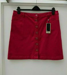 Women Brands, Summer Shorts, Short Skirts, Skirt Fashion, Im Not Perfect, Casual Shorts, Pink, Cotton, Sale Items