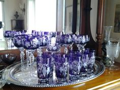 Amethyst glass collection
