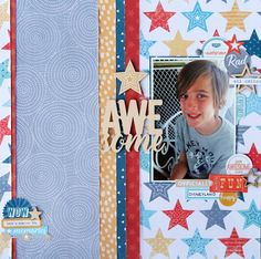 Challenge Blog for scrapbookers who find it difficult to 'Scrap the Boys'!