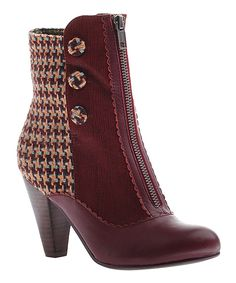Poetic Licence Hunting Red Sands of Time Bootie | zulily