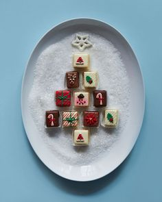 - Classic Christmas Petits Fours