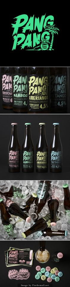 Pastel packaging for new beer packs a punch