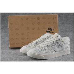 a4e73f5855064 Women Nike Blazer Low Prm White Tree Leaf Shoes