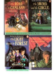 Rosemary Sutcliff Set: The Sword and the Circle + The Light Beyond the Forest + The Road to Camlann + Flame-Colored Taffeta: Rosemary Sutcliff: Amazon.com: Books