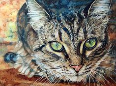 Watercolor Artwork By Artist Lisa O'Regan