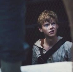 The Maze Runner - Newt is everything. End of story.....he's even better than Thomas!  ima keep that comment lol