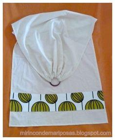 tutorial para coser bandolera portabebés