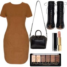 A fashion look from October 2015 featuring short sleeve t shirt dress, lace up heeled boots and mini duffle bag. Browse and shop related looks. Lace Up Heel Boots, Heeled Boots, Polyvore Fashion, Givenchy, Fashion Looks, Chanel, Shopping, Style, High Heel Boots