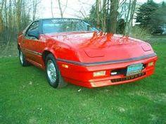 1988 Dodge Daytona, my 3rd car.  Hot!