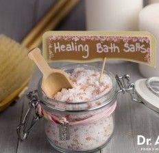 Homemade Healing Bath Salts