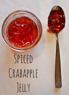 When I was a kid, before I was old enough to understand the strain of holiday family visits and Christmas stress, I loved going to my grandparents house for Christmas Eve. Me, my mom, and my sister… Crab Apple Recipes, Jelly Recipes, Jam Recipes, Canning Recipes, Recipies, Canning Tips, Chutney Recipes, Drink Recipes, Crabapple Jelly Recipe