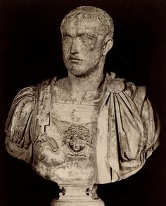 Gallienus, the son of Valerianus. Marble. Rome, Capitoline Museums