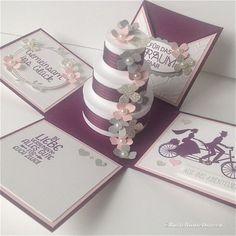 Hochzeit in rosa und lila
