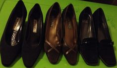 3 prs of Women shoes/heels..size 8-1/2 A A..view here..http://stores.ebay.com/2014ctayltreasures