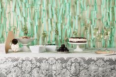 shower, styling, bridal shower, desserttable, mint, pastel, sweets