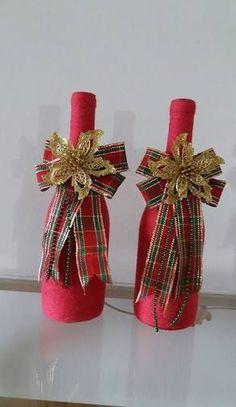 Resultado de imagem para decoração com garrafas
