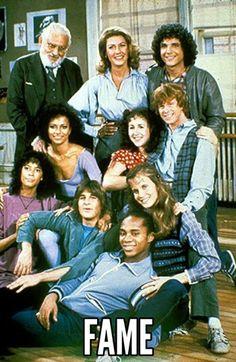 Avant Glee, avant High School Musical, avant S Club il y avait Fame ! Nostalgia, High School Musical, Tv Vintage, 1980s Tv, 1970s, Mejores Series Tv, Debbie Allen, Old Shows, 80s Kids