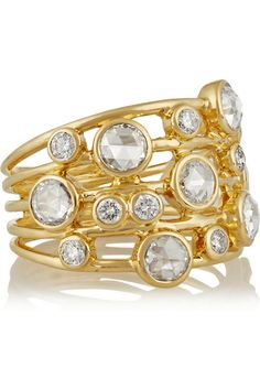 Ippolita | Glamazon Constellation 18-karat gold diamond ring | NET-A-PORTER.COM - http://www.net-a-porter.com/us/en/product/556971/Ippolita/glamazon-constellation-18-karat-gold-diamond-ring