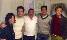 "Entrevista en el programa ""Atrévete"" de Cadena dial con Ricardo Gómez (10/01/2014, 10:05 am) https://twitter.com/isidromontalvo/status/421568496791982080/photo/1"