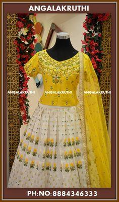 Custom designer lehenga by Angalakruthi boutique Bangalore Watsapp:+91-8884347333 Designer boutique in Horamavu Bangalore #boutiqueinhoramavu