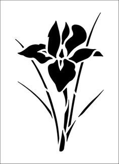 Stencil Of Flower - ClipArt Best