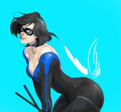 LadyNightwing by JosukeKato on DeviantArt