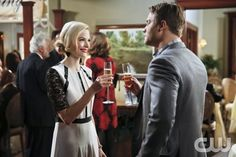 """Hart of Dixie -- """"Carrying Your Love With Me"""" -- Image Number: HA316b_0355b.jpg -- Pictured (L-R): Jaime King as Lemon and Scott Porter as George -- Photo: Greg Gayne/The CW -- © 2014 The CW Network, LLC. All rights reserved."""