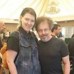 Me and Curtis Armstrong. One of my favorites in Supernatural.