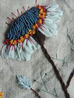 Large Flower Embroidery