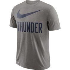 9851d601bb Nike Men s Oklahoma City Thunder Dri-FIT Legend Grey T-Shirt