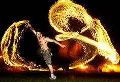 This just looks freaking Amazing. I cant tell if he is using a whip or something else, but its cool