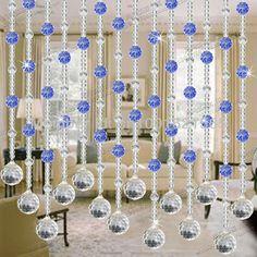 Novidade crystal bead cortina de cozinha porta cortinas de - Cortinas de abalorios ...