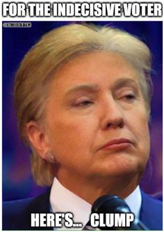 For the indecisive voter... here's Clump!