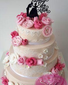 #siass #siass_landshut #Hochzeitstorte #weddingcake #cakeart #fondant