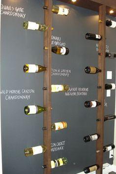 Chelsea contemporary wine cellar, Portico Design Group