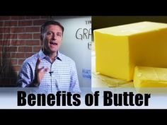 Dr Berg talks about the nutritional benefits of grass fed butter