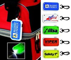 Can-Do Promotions, Inc - Reflector Clip-On Safety Light National Bike Month, Light Clips, Button Cell, Safety, Ea, Bright, Jacket, Book, Products
