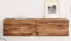 Wood Cabinets, White Walls, Credenza, Dining Room, Furniture, Interior Design, Storage, House, Closets