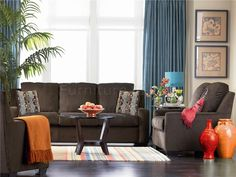 Chocolate Brown Couch On Pinterest Wall Colors Couch And Wall