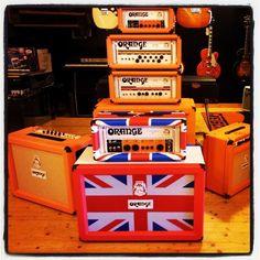 Orange Amplifiers - Samsung Galaxy II, Instagram