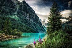 Louise Lake. Canada by Steve Steinmetz