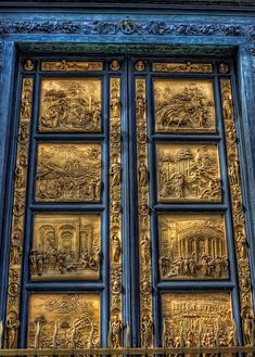 """The Gates of Paradise"", Battistero di San Giovanni -Florence, Italy"