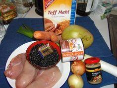 """Rezept: Ein Kochexperiment: Das original äthiopische """"Injera"""" mit zweierlei """"Wot"""""""