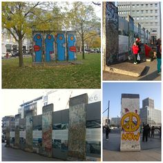 Muro de Berlim - Potsdamer Platz e Leipziger Platz