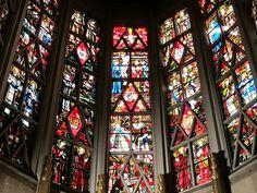Vitraux de Max Ingrand. Église Sainte-Agnès de Maisons-Alfort. Ile-de-France | by Yvette G.