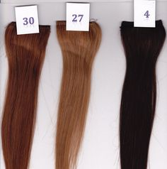 14 Silky Straight 100% Human Hair Clip On In Extension 2 Wide Piece Color 30 Medium Auburn ** This is an Amazon Affiliate link. You can get additional details at the image link.