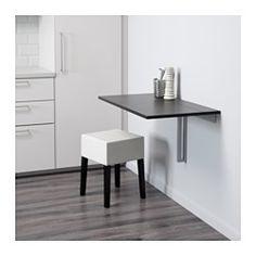 Wandklapptisch ikea  NORBERG Wandklapptisch, weiß   Drop leaf table, Leaf table and ...