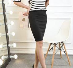 Pure Cotton Thread Hip Skirt
