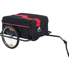 The Aosom Elite II Bike Cargo trailer attaches to almost any bicycle and has plenty of space for groceries and running routine errands. A removable cover is included to protect your things. One Aosom Type 'A' bicycle hitch/connector included. Bike Cargo Trailer, Cargo Trailers, Cargo Bike, Bicycle Cart, Bike Rack, Bike Hitch, Range Velo, Biking With Dog, Bicycle Storage