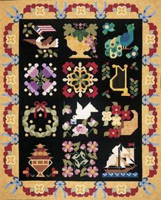 """Pieces Of Baltimore The Ultimate Collection by Pam Bono - book of pieced patterns, 18"""" blocks"""